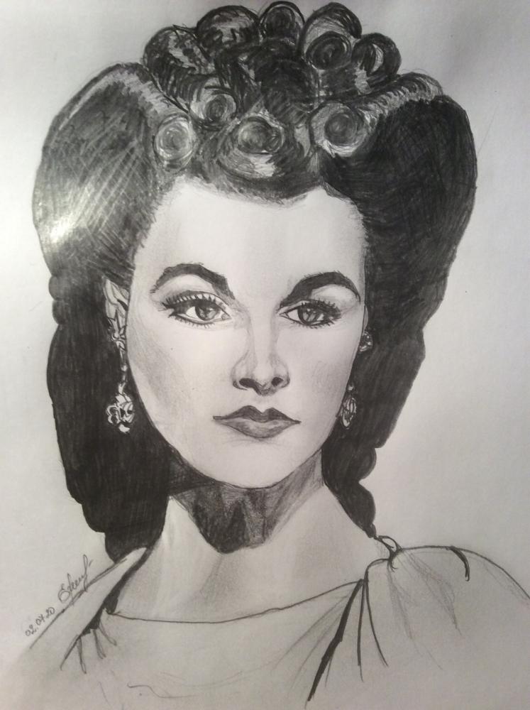 Vivien Leigh by IdrawYou
